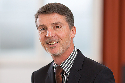 Vice President For Finance And Administration. Photo: Dr. Christoph Strutz  (Photograph: Christian Bierwagen) ...